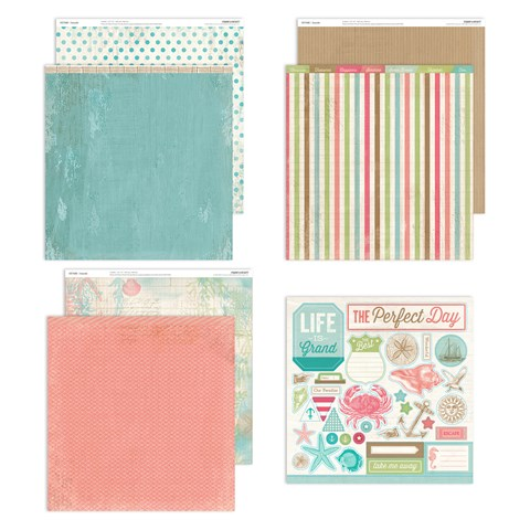 Seaside Paper Packet (CC7192)