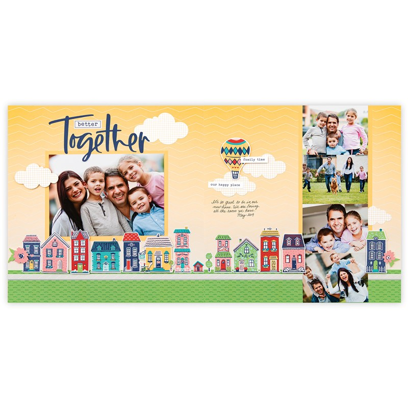 Blue Skies Cut Above® Layout Kit