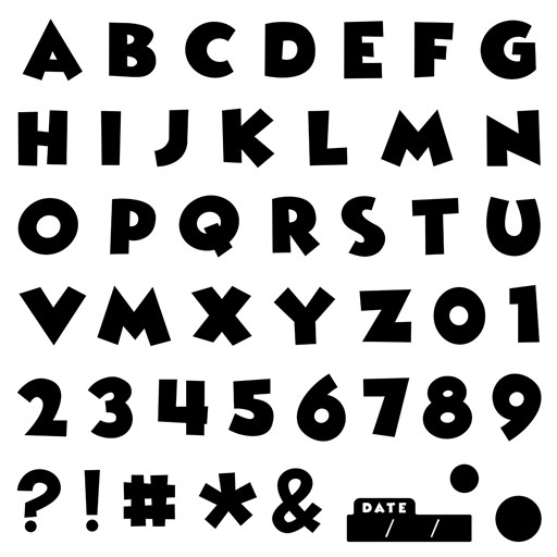 Magical Alphabet (D1937)