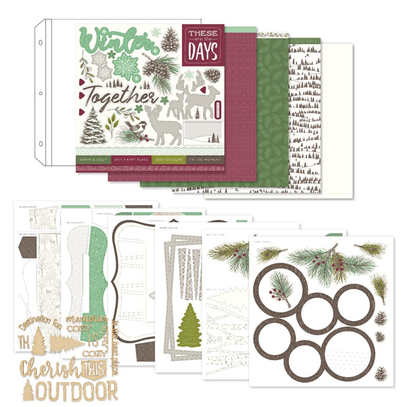 Spruced Up Scrapbooking Workshop Kit