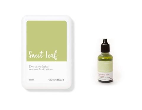 Sweet Leaf Exclusive Inks™ Stamp Pad + Re-inker (CC1421)