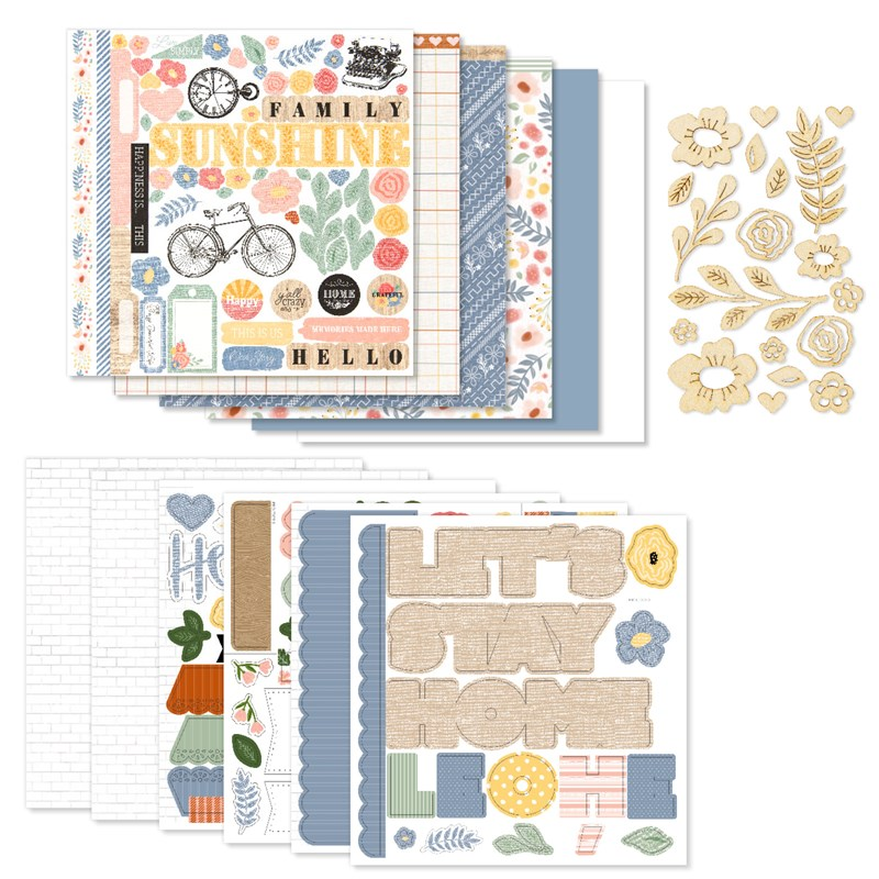 Happiness Lives Here Scrapbooking Workshop Kit (without Memory Protectors™)