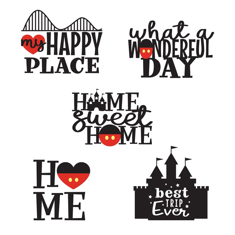 Happiest Place Digital Art Titles