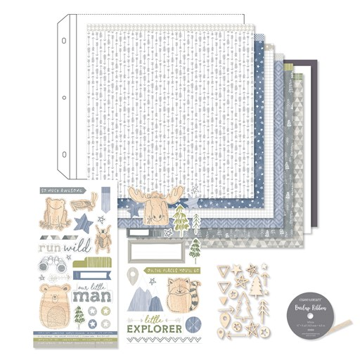 Workshops Your Way® Into the Wild Scrapbooking Kit (G1180)