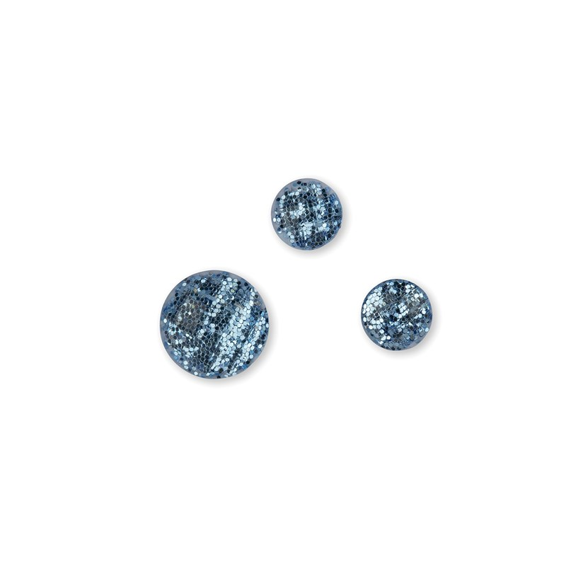 Blue Belle Glitter Gems