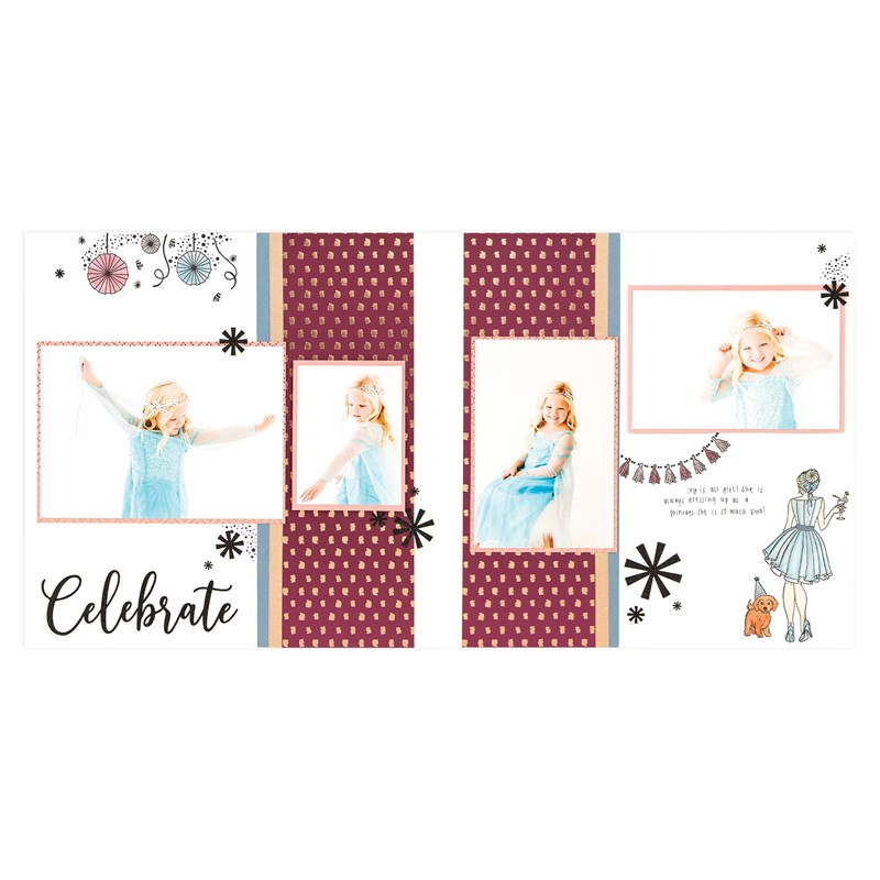 Party Girl Scrapbooking Workshop Kit