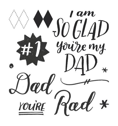 Rad Dad Stamp Set