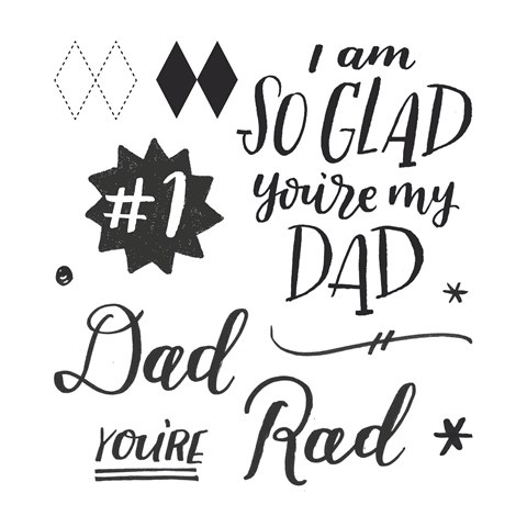 Rad Dad Stamp Set