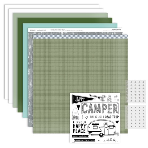Happy Trails Scrapbooking Workshop Kit (CC6191)