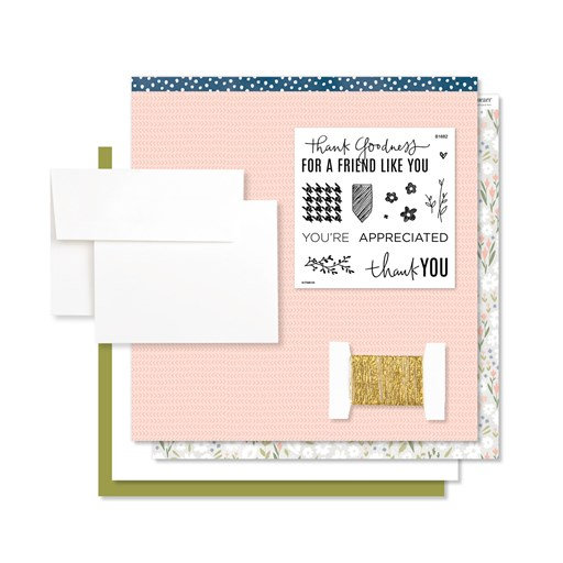 Workshops Your Way® Grateful for You Cardmaking Kit (G1183)
