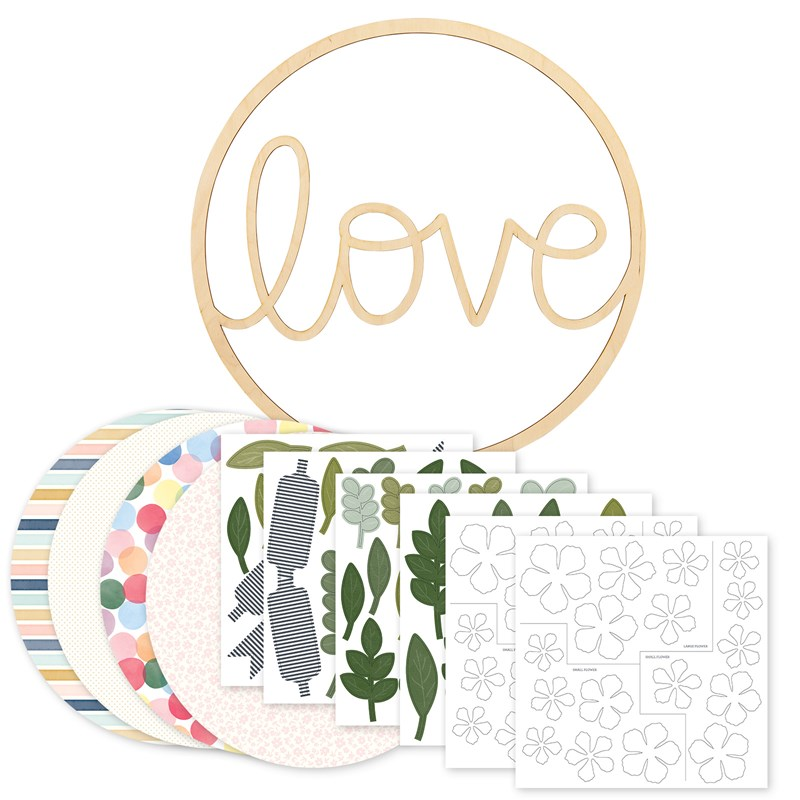 Love Wreath Kit