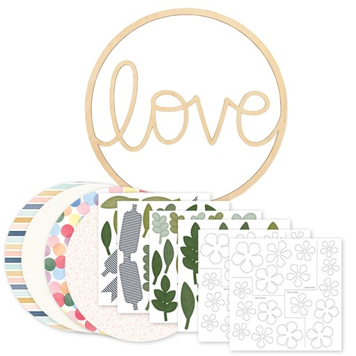 Love Wreath Kit (CC12037)