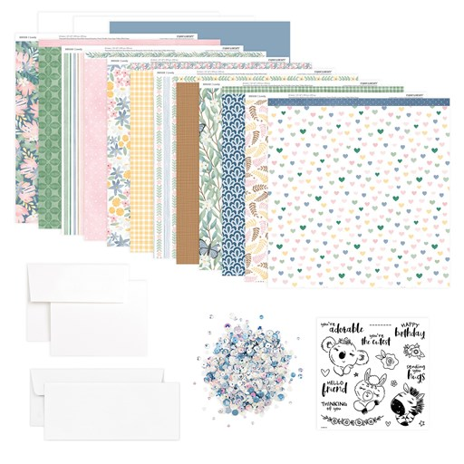 Sending You Hugs Cardmaking Workshop Kit (CC42110)