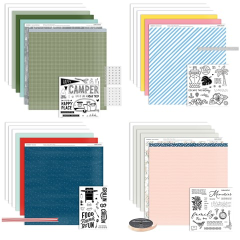 The Best Moments Are Free Scrapbooking Workshop Kits Bundle (CC61910)