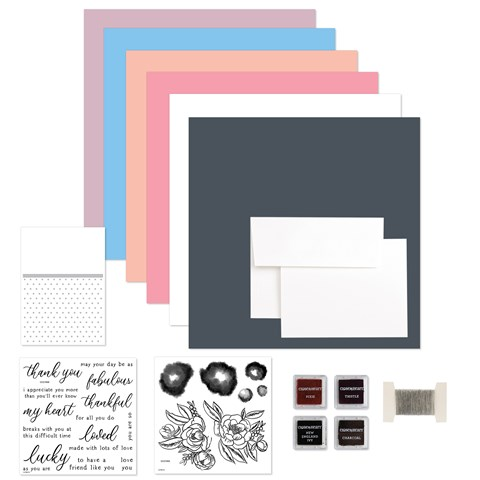 Love Blossoms Workshop Kit + Embossing Folder (CC21911)