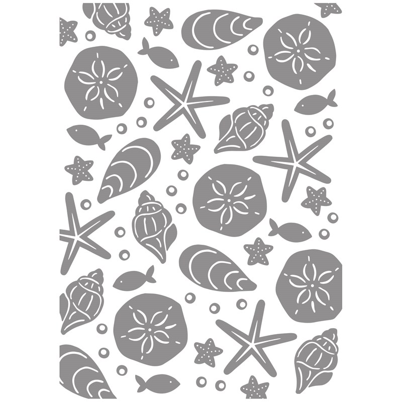 Under the Sea Embossing Folder