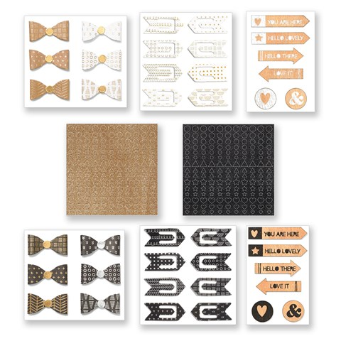 Black & Gold Fundamental Assortment Bundle (CC1319)