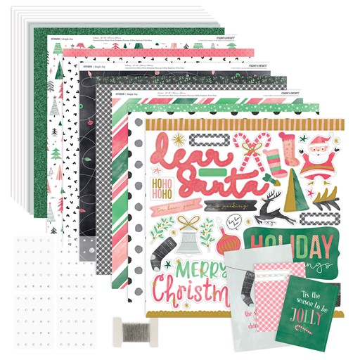 Jingle All the Way Album Workshop Kit (without album and Memory Protectors™) (CC11202)