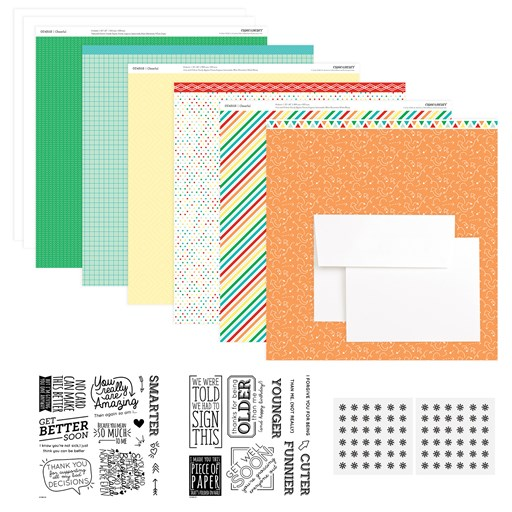 Cheerful Humor Cardmaking Workshop Kit (CC4218)