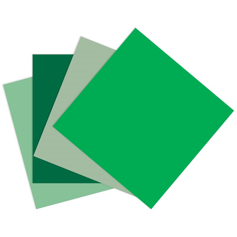 Green Cardstock Bundle