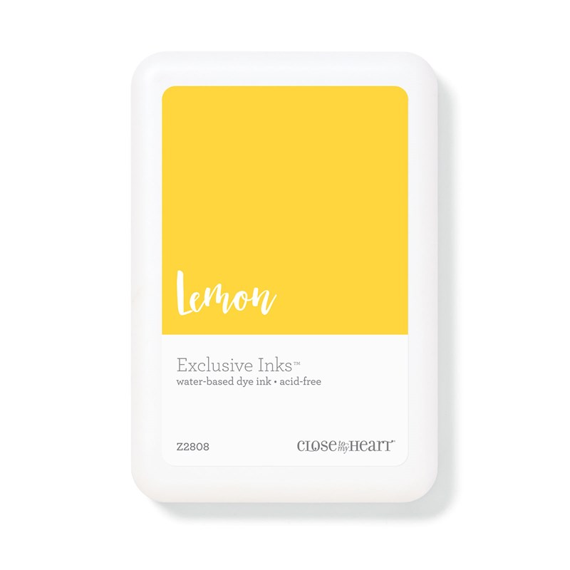 Lemon Exclusive Inks™ Stamp Pad