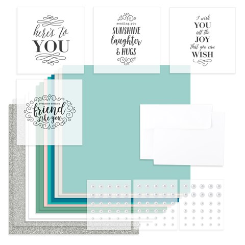 Here's to You Workshop Kit (Without Embossing Folder) (CC7191)
