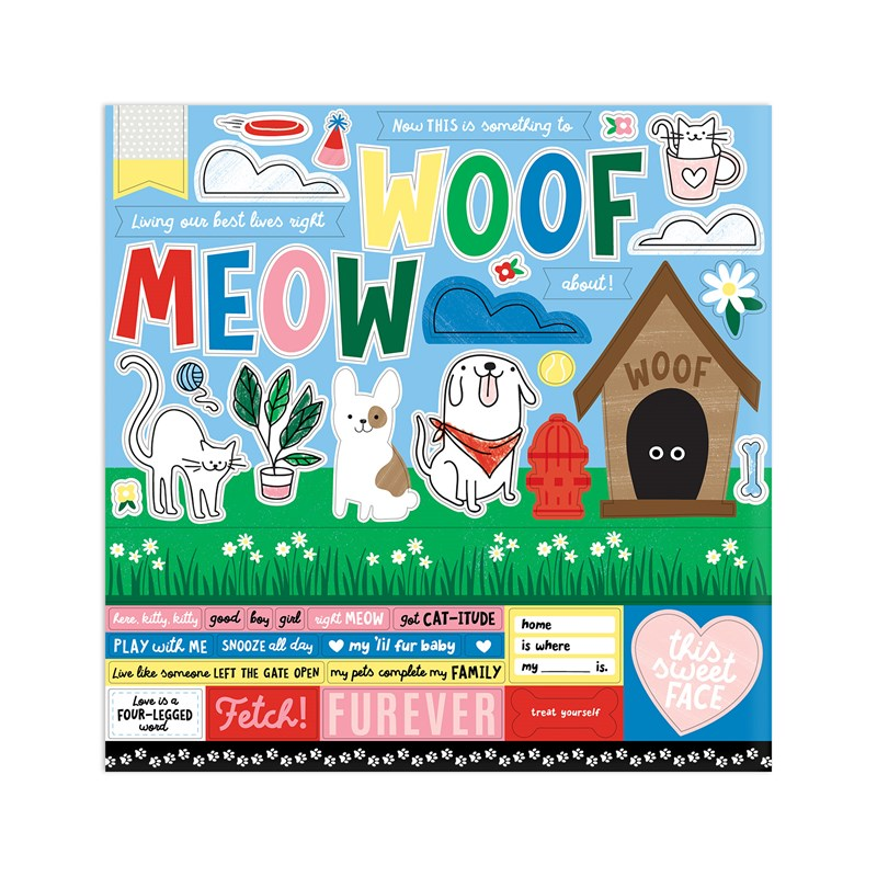 Best Friends Furever Paper Packet + Sticker Sheet