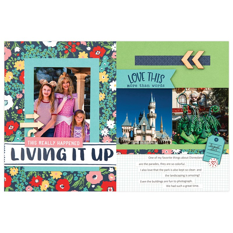 "Blue Skies 6"" x 8"" Scrapbooking Workshop Kit"