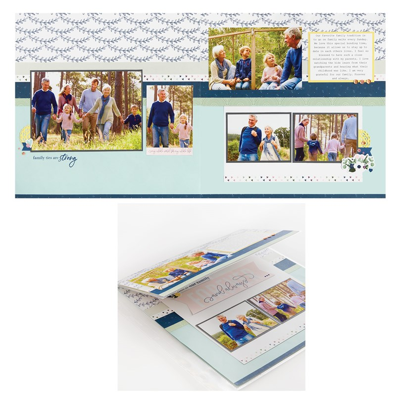 True Love Deluxe Scrapbooking Workshop Kit (without stamp set or Thin Cuts)