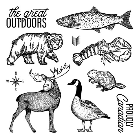 The Great Outdoors Stamp Set (CC101812)