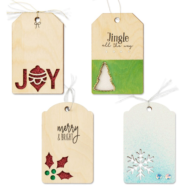 Christmas Wood Tags