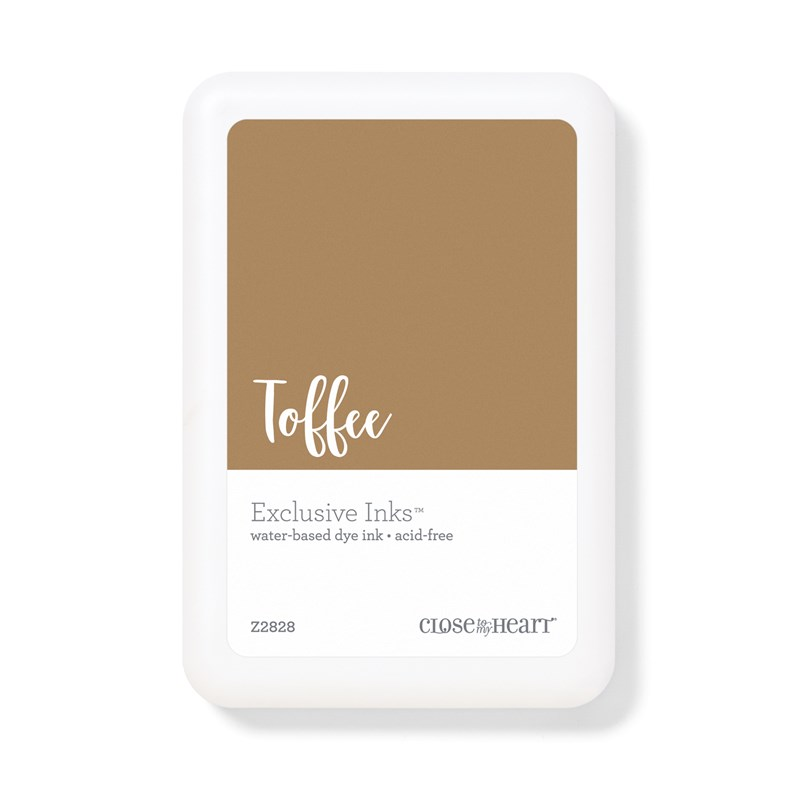 Toffee Exclusive Inks™ Stamp Pad