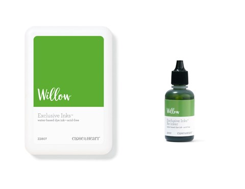 Willow Exclusive Inks™ Stamp Pad + Re-inker (CC1405)
