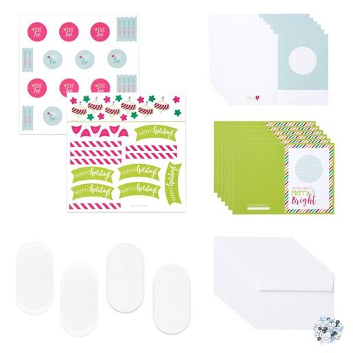 Cut Above® Card Kit—Holiday Sparkle (CC10189)