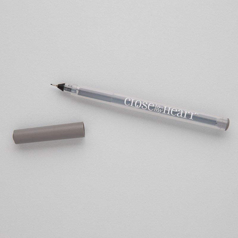 Pewter Journaling Pen (.03)