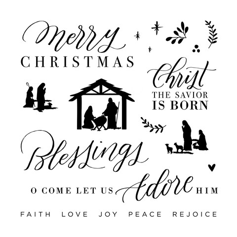 Christmas Blessings Stamp Set (CC12181)