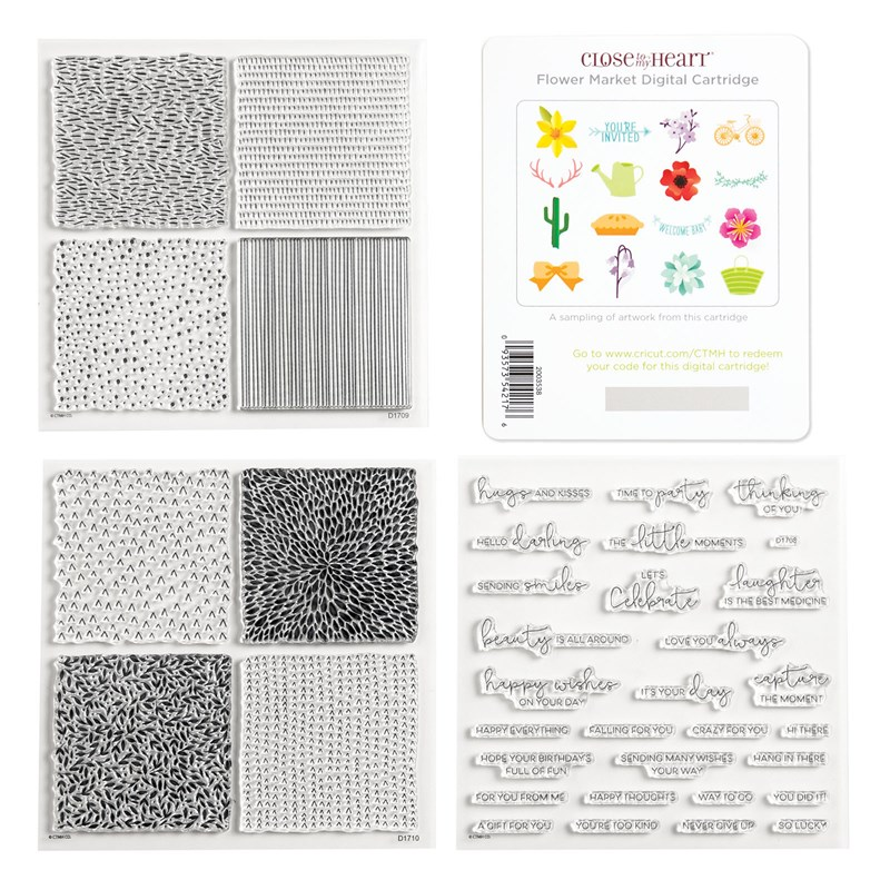 Cricut® Flower Market Digital Collection