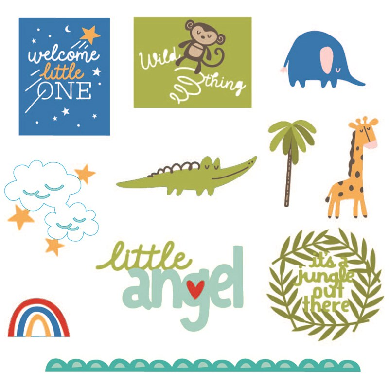 Cricut® Sweet Safari Collection