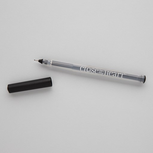 Black Journaling Pen (.01) (Z3515)
