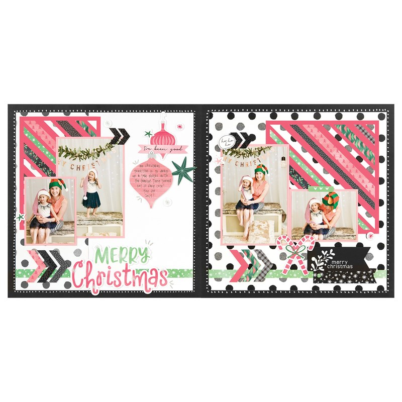 Jingle Joy Scrapbooking Workshop Kit (without Memory Protectors™)
