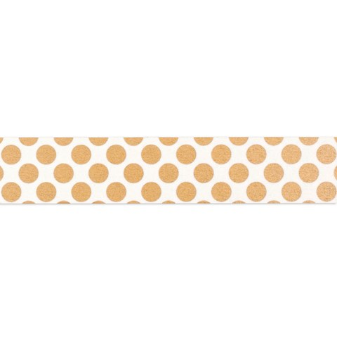 Gold Polka-Dot Washi Tape (Z1920)
