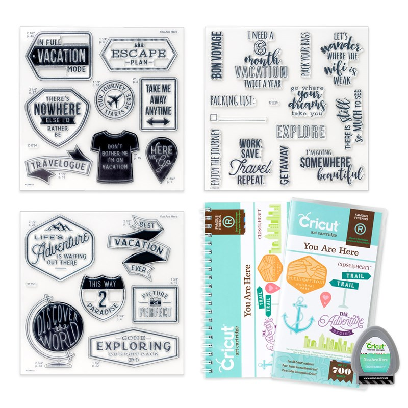 Cricut® You Are Here Collection (cartridge)