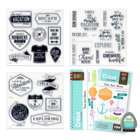 Cricut® You Are Here Collection (cartridge) (Z3297)