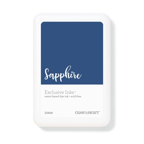 Sapphire Exclusive Inks™ Stamp Pad (Z2848)