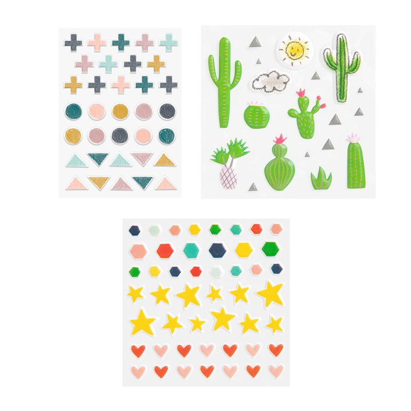 Puffy Stickers Bundle