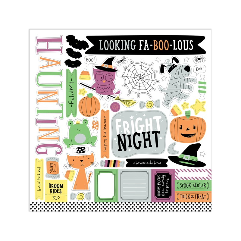 Spooktacular Paper Packet + Sticker Sheet