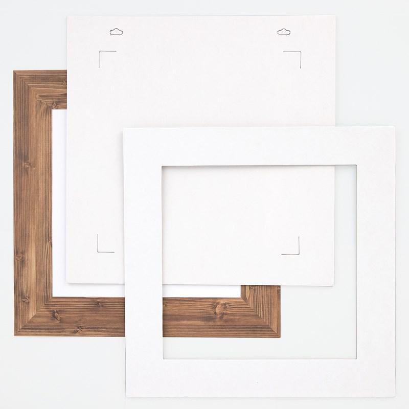 Chipboard Frame + Overlay