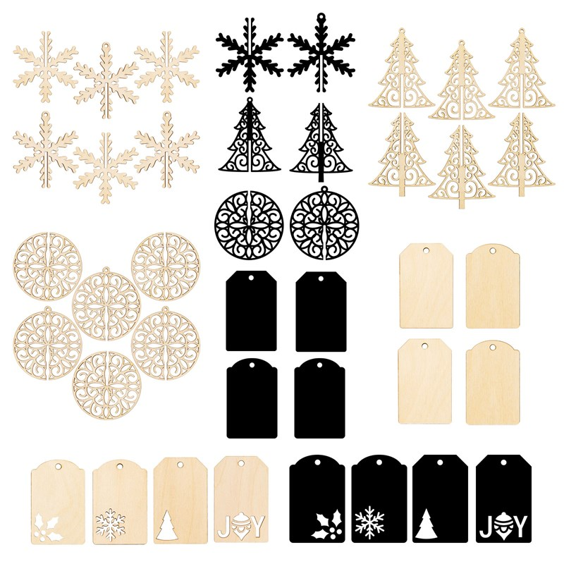 Merry Little Christmas Tags & Ornaments Bundle