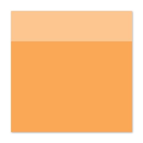 "12"" × 12"" Tangerine Cardstock (X5972)"
