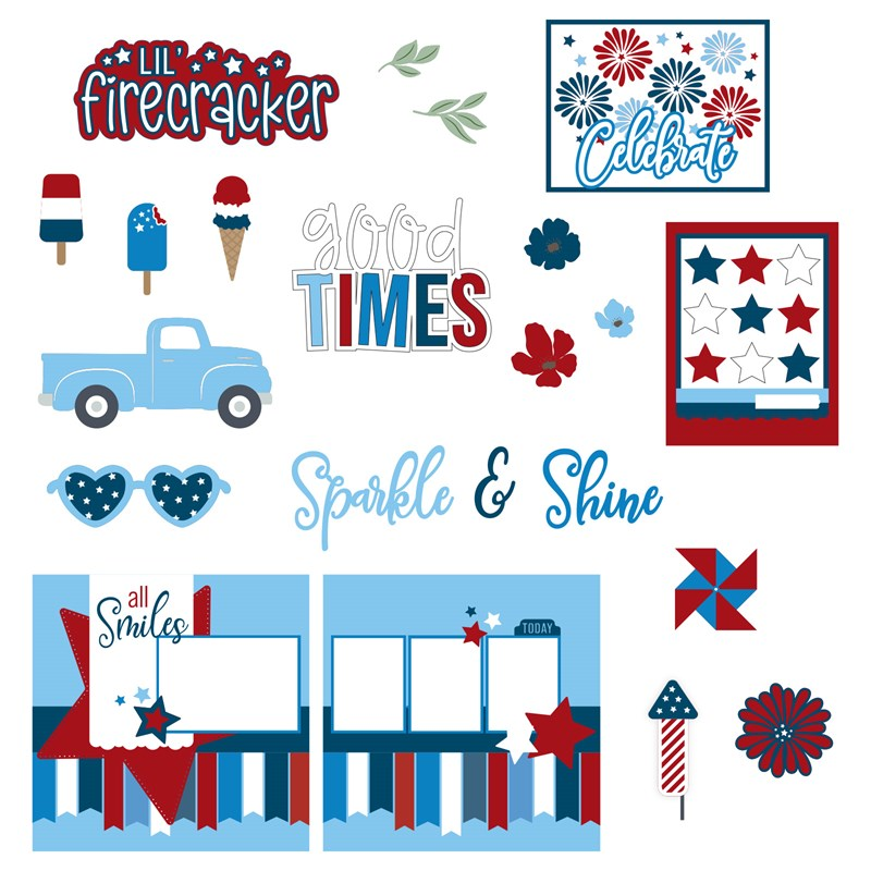 Cricut® Stars & Sparklers Collection